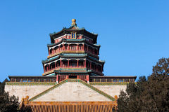 Tower of Buddhist Incense Stock Image