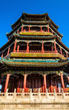 Tower of Buddhist Incense in the Summer Palace - Beijing Royalty Free Stock Photography