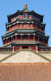Tower of Buddhist Incense Royalty Free Stock Images