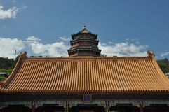 Tower of Buddhist Incense, Summer Palace China Royalty Free Stock Photography