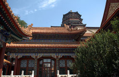 The Tower of Buddhist Insense in the Summer Palace, Beijing, Chi Stock Photography