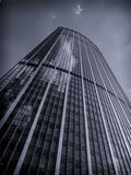 Tower Building. Biggest tower building in Paris (Montparnasse Stock Image