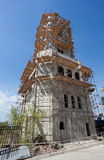 Tower building under construction Royalty Free Stock Image