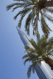 Tower Burj Khalifa Royalty Free Stock Photo