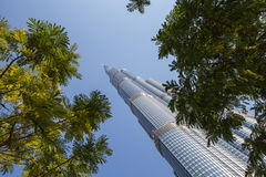 Tower Burj Khalifa Royalty Free Stock Image