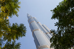 Tower Burj Khalifa Royalty Free Stock Photo