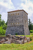Tower in Butrint, Albania Royalty Free Stock Photography