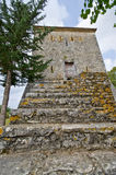 Tower in Butrint, Albania Royalty Free Stock Photo