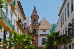 Tower in Cadiz Stock Photography