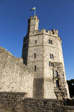 Tower of Caernarvon Castle Royalty Free Stock Image