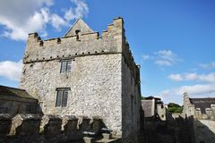 Tower of Cahir Castle in Ireland Royalty Free Stock Photography