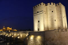 Tower of Calahorra in Cordoba Stock Image