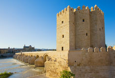 Tower Calahorra, Cordoba, Spain Royalty Free Stock Image