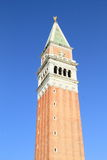 Tower Campanile di San Marco. On square Piazza di San Marco in Venice (Italy Royalty Free Stock Photos