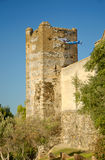 Tower Castillo Sohail in Fuengirola, Spain Royalty Free Stock Images