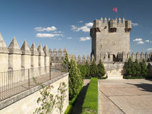 Tower of castle of Almodovar del Rio Royalty Free Stock Image