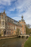 Tower of Castle Arenberg, now university of Leuven Stock Image