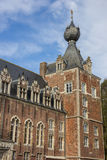 Tower of Castle Arenberg, now university of Leuven Royalty Free Stock Photo