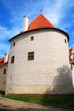 Tower of a Castle. Tower of the Bauska Castle in Latvia Royalty Free Stock Images