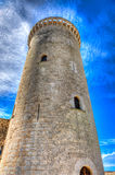 Tower & x28;castle of Bellver& x29; Majorca Royalty Free Stock Photos