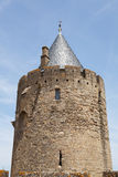 Tower of castle carcasonne Royalty Free Stock Photography
