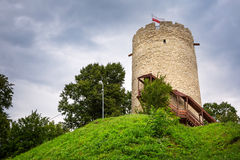 Tower of the castle in Kazimierz Dolny Royalty Free Stock Photos