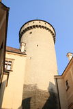Tower on Castle Konopiste Royalty Free Stock Photos