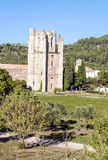 Tower of castle of Lagrasse Royalty Free Stock Photography