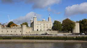 Tower castle in London City royalty free stock photos