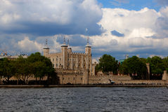 Tower Castle, London, England Royalty Free Stock Image