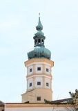 Tower of castle in Mikulov Royalty Free Stock Photos