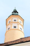 Tower of castle in Mikulov Stock Images