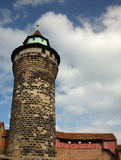 Tower of the Castle at Nuremberg Royalty Free Stock Photo