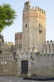 Tower of Castle of San Marcos Stock Photo
