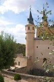 Tower castle of segovia Royalty Free Stock Photo