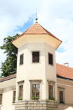 Tower of castle in Telc Royalty Free Stock Photo