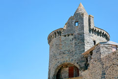 Tower of castle in Vitre, France Stock Photography