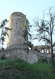 Tower of castle Zebrak Royalty Free Stock Photography