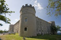 Tower of castle Zrinski-Frankopan Stock Image