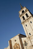 Tower of cathedral in Alcala Royalty Free Stock Photography