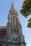 Tower of the Cathedral in the Gothic style Royalty Free Stock Image