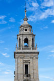 Tower Cathedral of Lugo Stock Photography