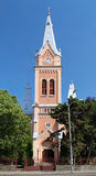 Tower of Cathedral of Saint Martin in Mukacheve Royalty Free Stock Photo