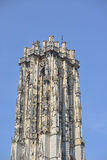 Tower of Cathedral of Saint Rumbold in Mechelen Stock Photography
