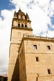 Tower of cathedral in Salamanca Royalty Free Stock Image