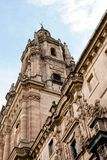 Tower of cathedral in Salamanca Stock Photography