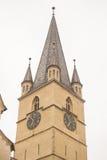 Tower Cathedral  , Sibiu Royalty Free Stock Photos