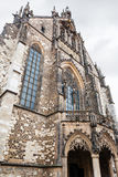 Tower of Cathedral of St Peter and Paul in Brno Stock Image