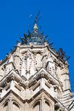 Tower of the cathedral of Toledo, Gothic style stock photos