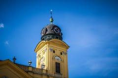Tower of a Catholic Monastery. Catholic monastery, in Debrecen Hungary Royalty Free Stock Image